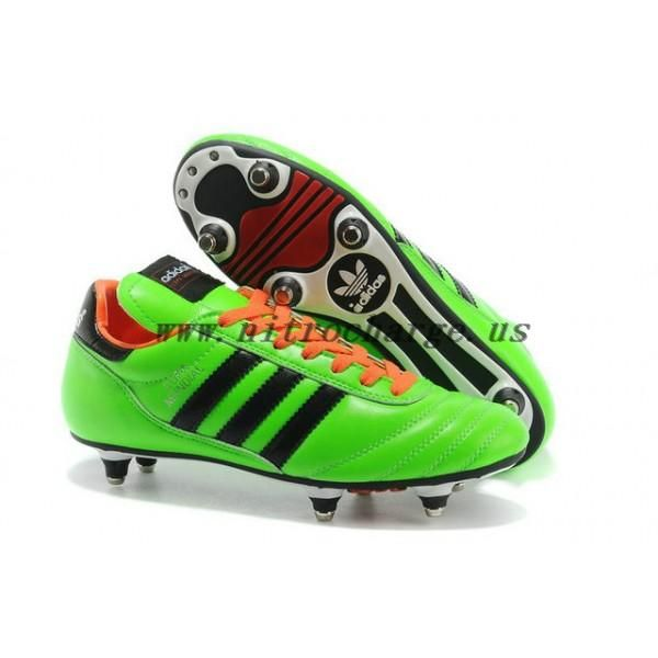 Mens Adidas Copa Mundial Firm Ground Sg Green Black Football Boot For Sale