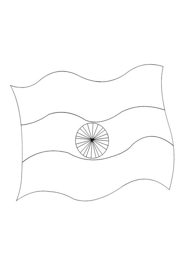 India Nation Flag Coloring Page In 2020 Flag Coloring Pages Coloring Pages Different Country Flags