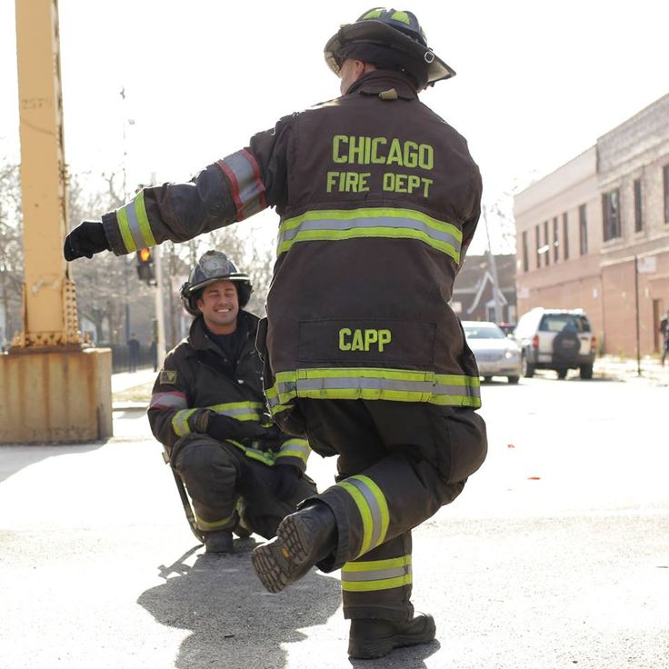Chicago Fire: Capp busting a move for Severide.