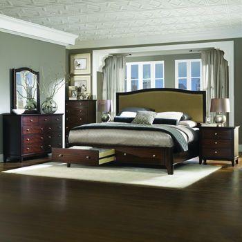 Monroe Heights 6 Piece King Bedroom Set Furniture