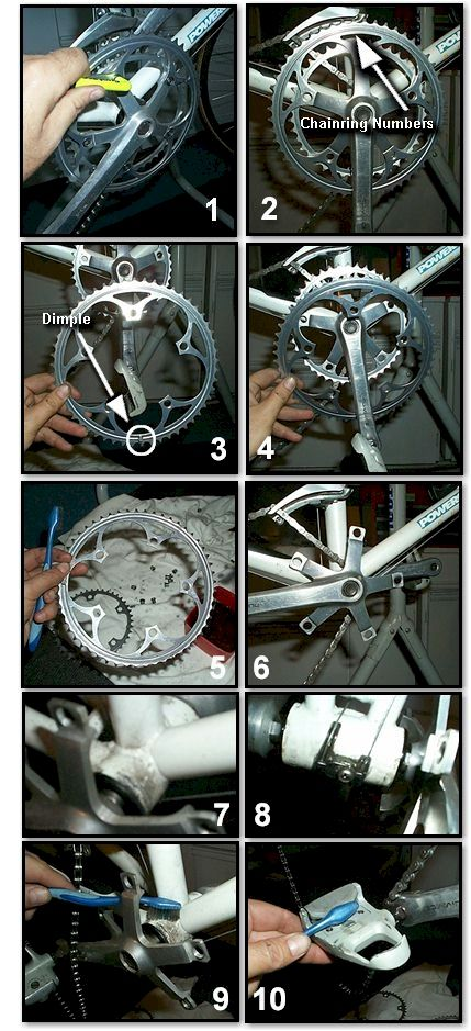 Bicycle Cleaning & Maintenance 101 - Cleaning the Bicycle Crankset or Crank System