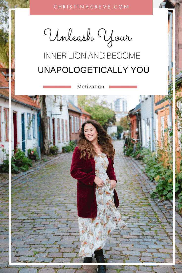 Unleash Your Inner LION and Become Unapologetically YOU