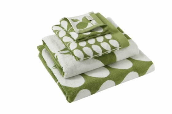 A great way to spruce up your bathroom interior style is by adding fluffy new towels. Both Orla Kiely and Pip Studio towelling featured in a recent Prezola article – the one stop shop for wedding lists.
