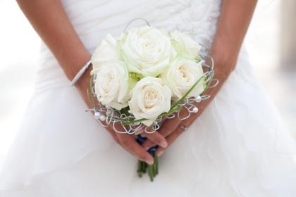 bruidsboeket eenvoudig