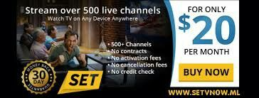 Get the best premium IPTV service for only $20 a month. 3 Day Free Trial. Up To 3 Devices. Includes all premium movie channels (hbo,showtime,starz, ect). Also every sports package  Imaginable.   Setvnowlive.com