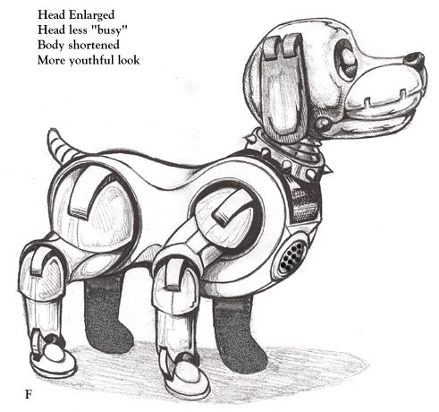 Картинка раскраска робот собака