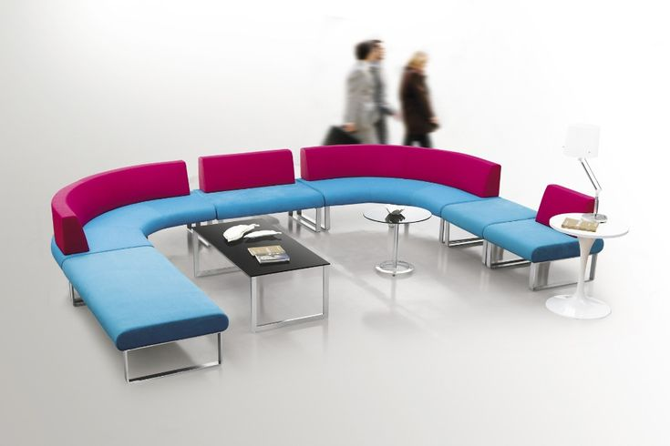 Colorful Office Furniture Modern Combination Fabric Breakout Sofa ...