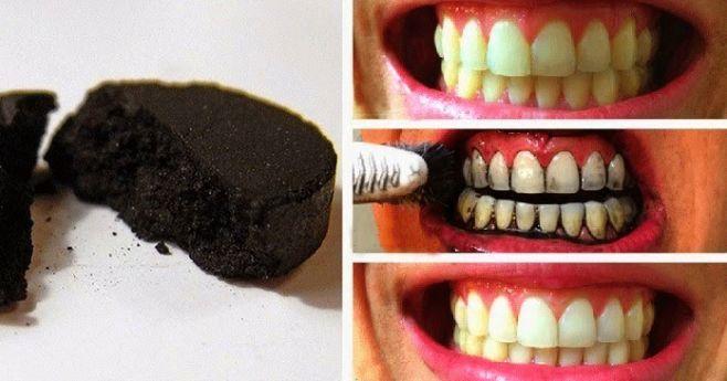 Jak zrobić czarną pastę do zębów - przepis czarna pasta do zębów