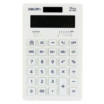 Solar Energy Dual Power Calculator Scientific Calculators -White