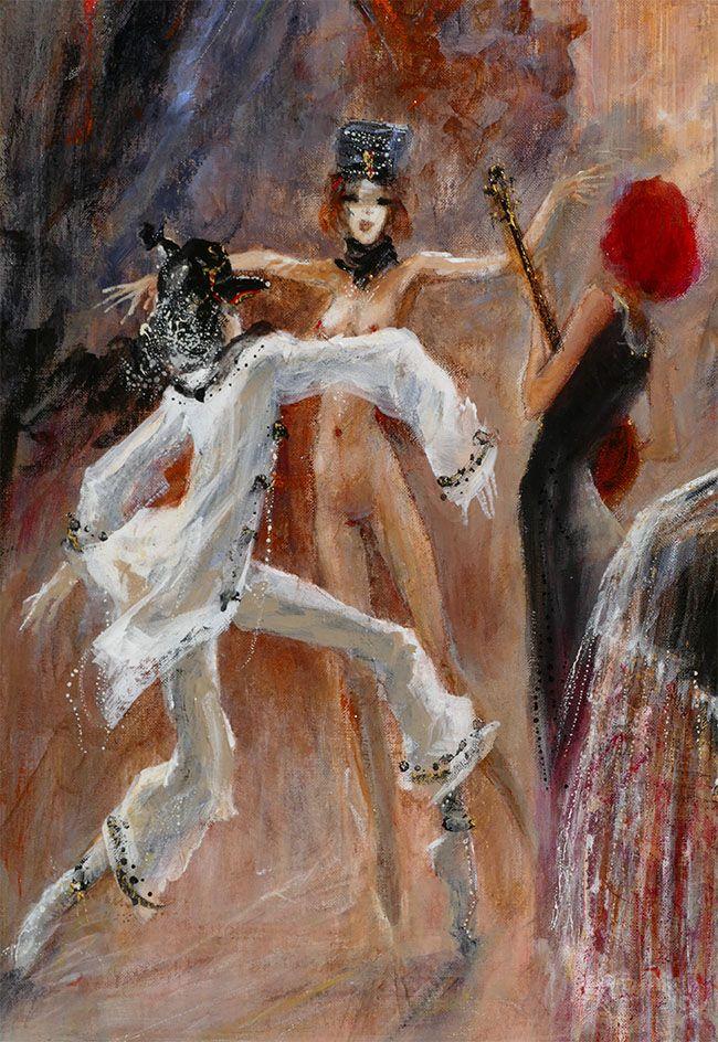 "Marcel Nino Pajot ""Convoitise"" (détail)  (81 x 100)           http://marcel-pajot.blogspot.fr/"