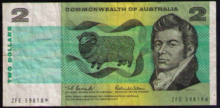 Star Note R81s 1966 COOMBS/WILSON $2 Australia Natural crispy PMG 30 VERY FINE