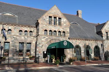 Gandy Dancy Restaurant in the historic 1886 Michigan Central Depot - Ann Arbor, Michigan