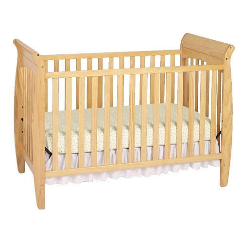 "Solutions by Kids R Us Classic Crib - Natural - Solutions by Kids 'R' Us - Babies ""R"" Us    $199.99    Non-toxic finish, real wood. For kids up to 50 lbs or 2 yrs"