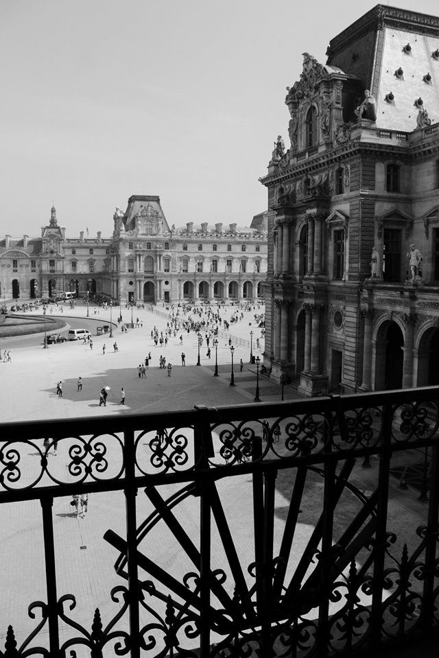 View from Louvre
