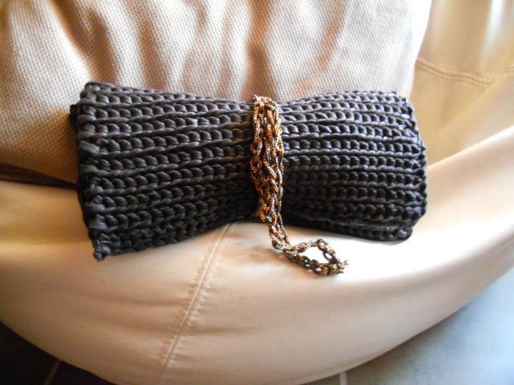 black pochette #handmade