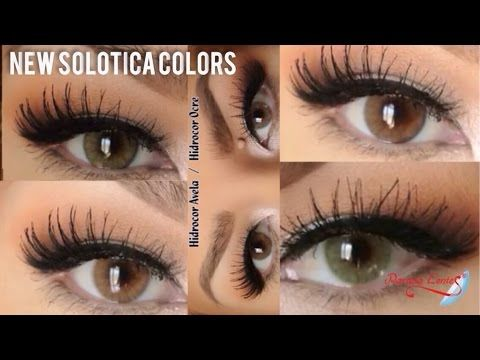 a0cf883b0ce20 Solotica Colored Contacts for Brown Eyes Best Review - YouTube ...