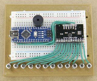 inventionhardware.com Fácil de BRICOLAJE Arduino Sensor Táctil Mini Piano