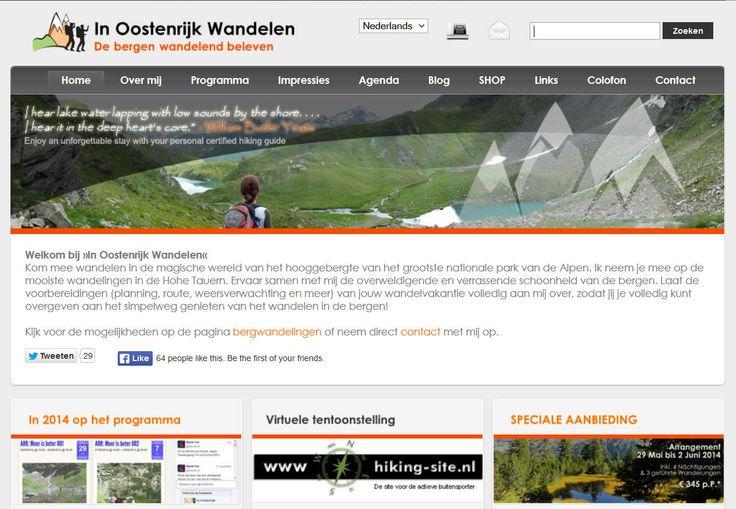 »In Oostenrijk Wandelen«-website *** »Hiking Austria«-website *** »In Österreich Wandern«-Website #bergwandelen #hiking #bergwandern #oostenrijk #austria #oesterreich