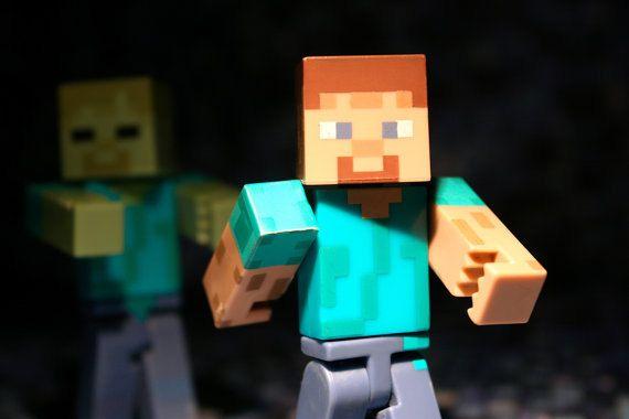 Steve vs The Zombie - Photograph - Various Sizes on Etsy, $10.00