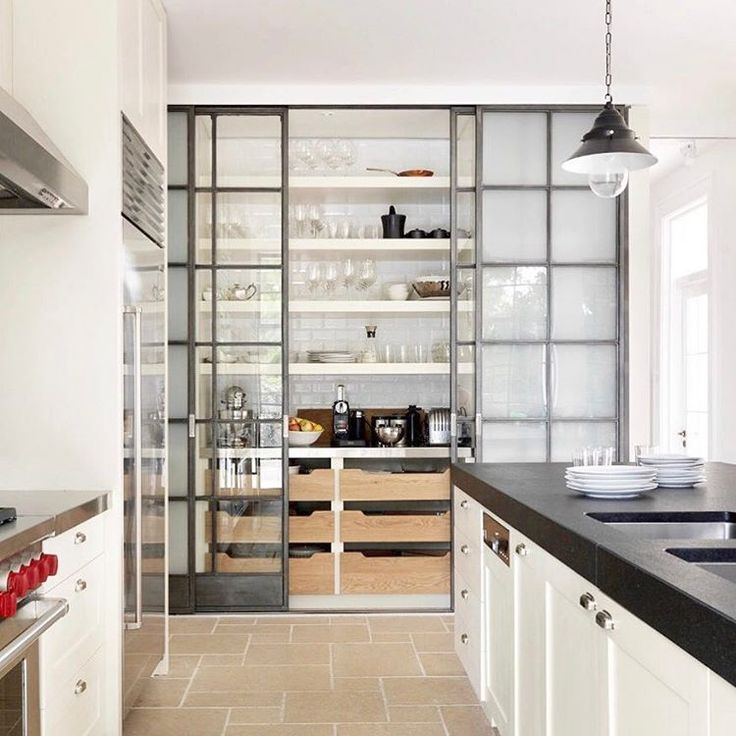 Beautiful Cabinets Instead Of Pantry