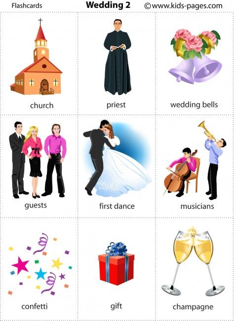 Kids Pages - Wedding 2