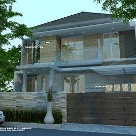 Rumah Minimalis Tropis & Interior Living