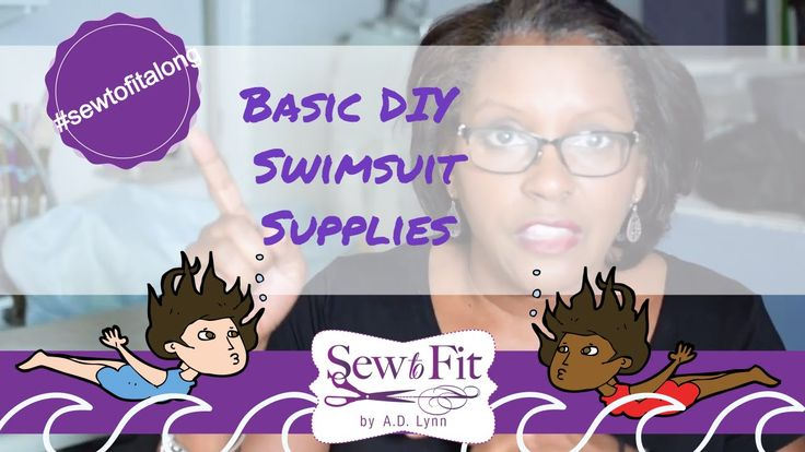 Basic DIY Swimsuit Supplies are explained in this video for this weeks Sew-To-FitAlong fitting series in this live video.  Please check out the last videos in the playlist to catch up if you want to fit-along with us.    Swimsuit Supplies:    Supplies General Swimsuit Shopping List   34-1 yd main fabric 2way stretch Lycra/Spandex (or as needed for your pattern)   34 yd swimsuit lining fabric (2way stretch swimsuit lining) (or as needed)   3-5yds swimwear elastic   http://amzn.to/2u7euos  1…