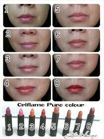 Pure colour lipstick on the go