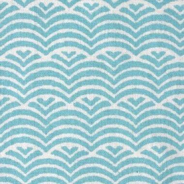 waves umbrella fabric