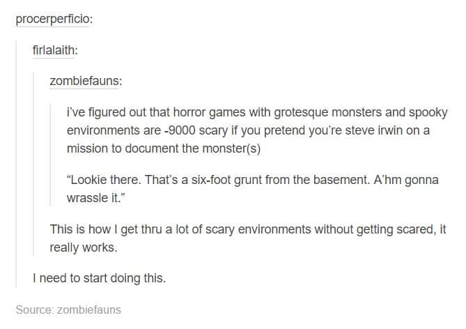 horror games with grotesque monsters