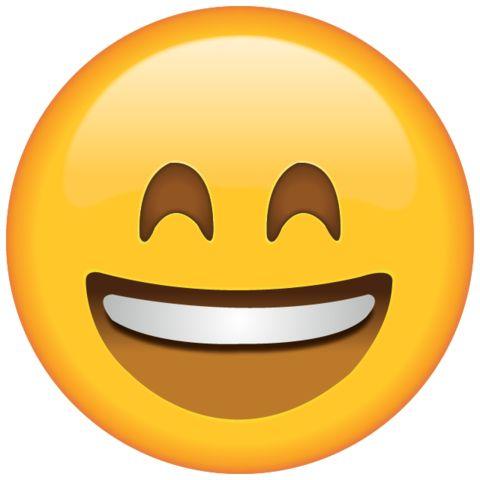 Download Smiling Emoji with Smiling Eyes Icon