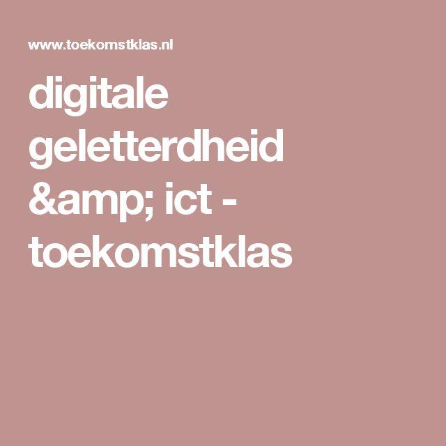 digitale geletterdheid & ict - toekomstklas