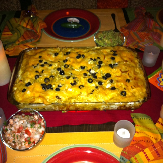 Mexican Dinner Party Menu Ideas Part - 37: My Sisteru0027s Enchilada Pie. Find This Pin And More On Mexican Dinner Party  Ideas ...