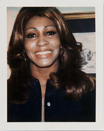 Tina Turner - Andy Warhol's Polaroid Portraits