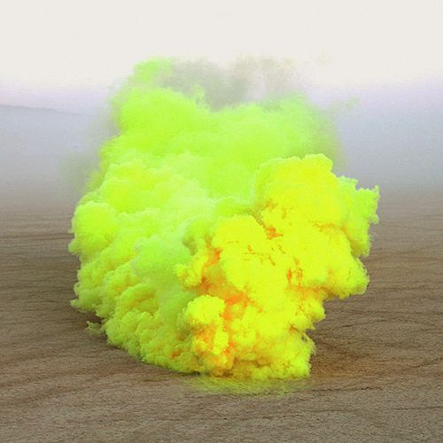 Coloured Smoke: Smoke Art, Neon Dreams, Colors, Yellow Things, Colour Smoke, Cloud, Yellow Smoke, Art Projects, Neon Yellow