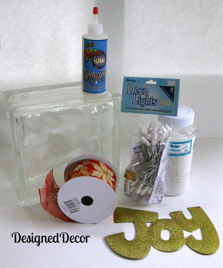 1000 ideas about glass block crafts on pinterest glass for Plastic blocks for crafts