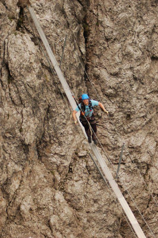 Madonnen-Klettersteig (Gr. Gamswiesenspitze, 2.488 m) - 10/15 | cestydoprirody.cz