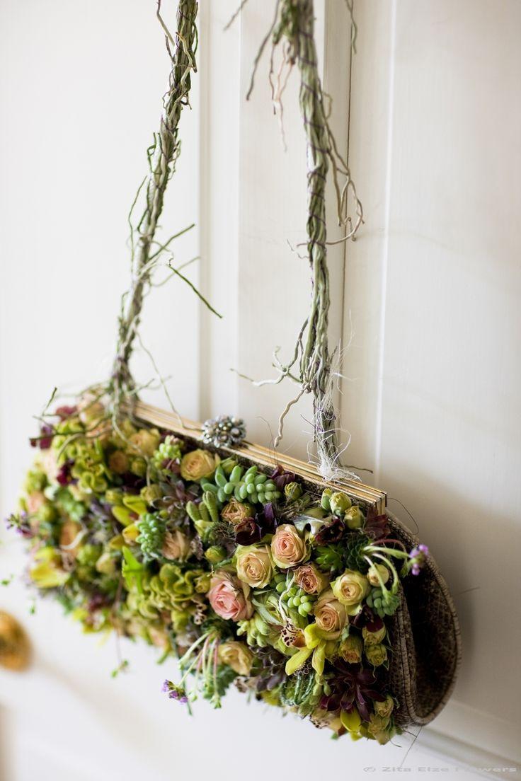 Beautiful wedding accessories / bag. Meet floral designer Zita Elze - Roxwell Press interview
