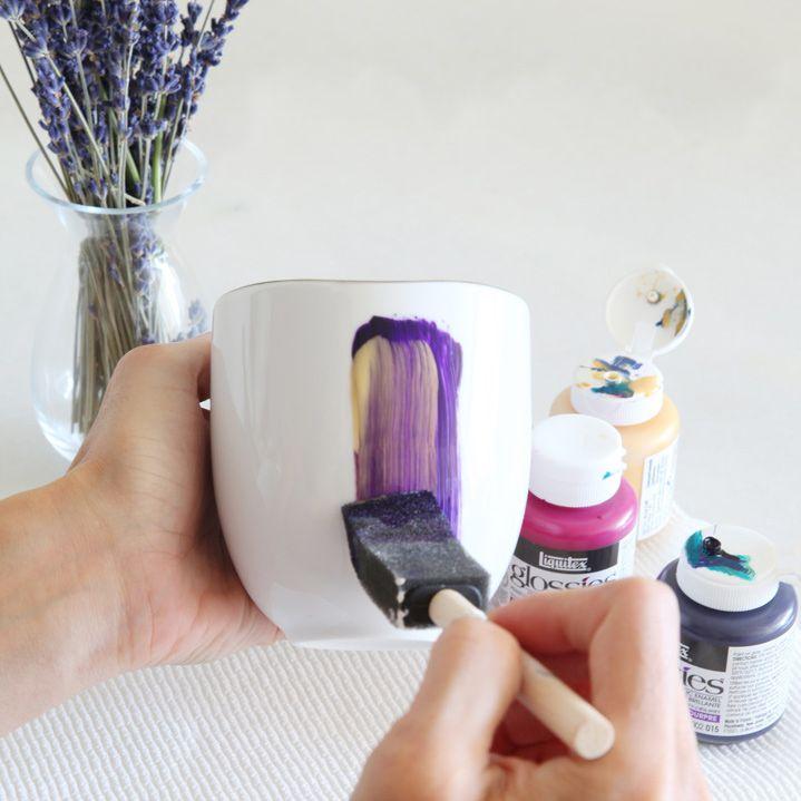 DIY Mug Painting by Jen Ramos | west elm