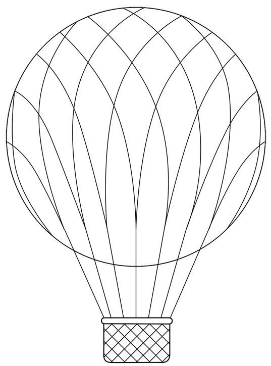 photo relating to Hot Air Balloon Pattern Printable called Incredibly hot Air Balloon Basket Models - Practices Little one hotair