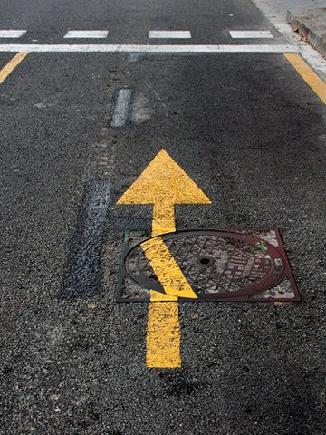 Flash!: Ocd, Arrows, Life, Funny Pictures, Street Art, Funny Stuff, Things, Photo