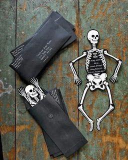 convite de esqueleto                                                       …
