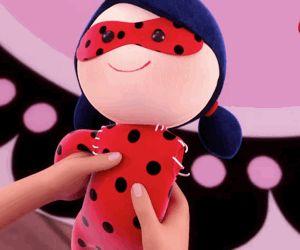 """peachbunni: """" ladyofacat: """" Ladybug Puppet (French) Episode 18: La Marionnettiste Miraculous Ladybug """" these dolls were so cute x) """""""