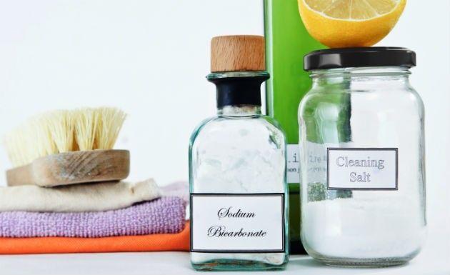 Bicarbonato de sódio na limpeza da casa