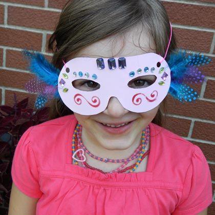 Princess Masquerade Mask | Crafts | Spoonful