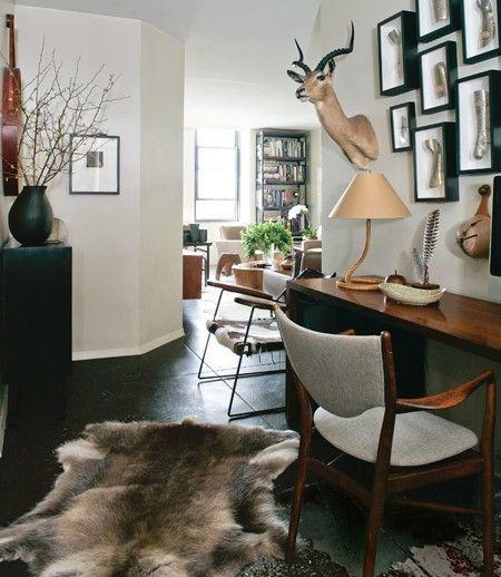 Schwarz-weiße Detaillierte Karte Bemalte Tapete Bedrooms, Room ...