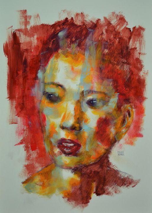 Chinese woman 2 - Michele Petrelli Painter