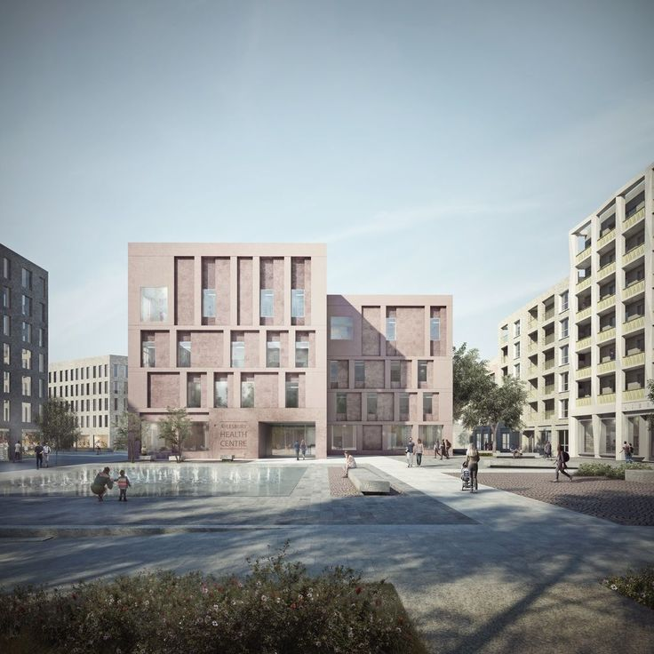 Duggan Morris . Aylesbury new community health building . London (1)