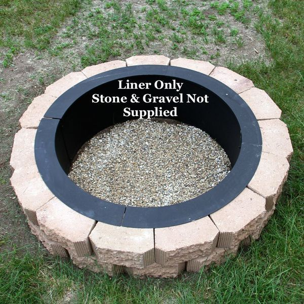 Beautiful Fire Pit Liners Inserts Part - 10: Fire Pit Liner