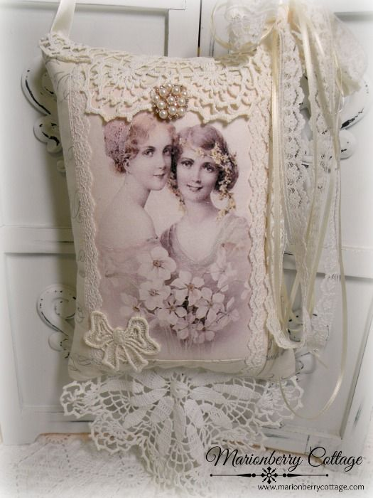 Victorian Sachet Pillows : 433 Best images about Marionberry Cottage.com on Pinterest Victorian ladies, Towels and Keepsakes
